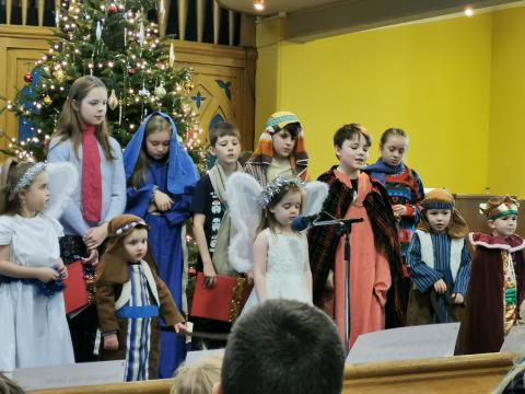 Sweet singing  Nativity 2019